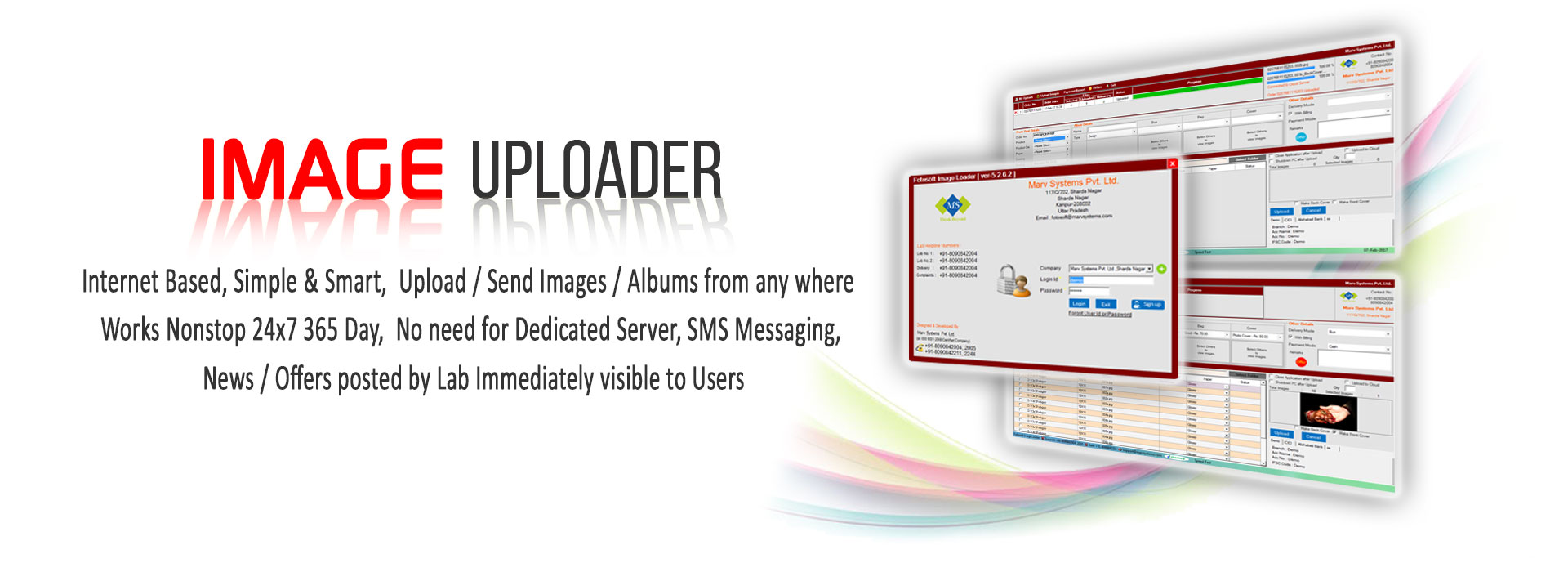 Fotosoft : Image Uploading Software
